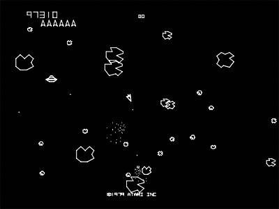 asteroids arcade vector - photo #13